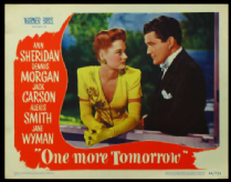 One More Tomorrow 1946 DVD - Ann Sheridan / Dennis Morgan